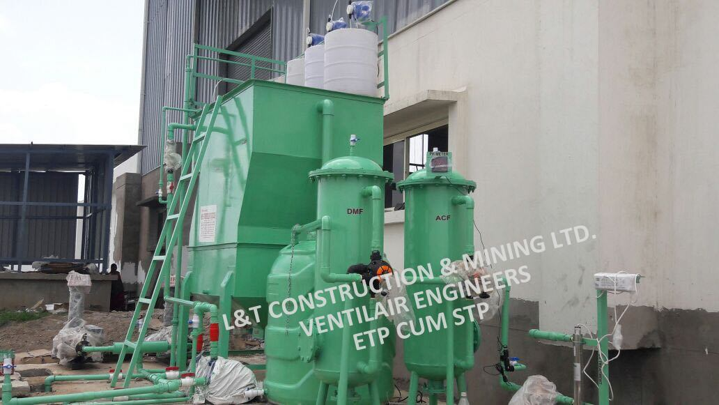 Rice Mill ETP Plant