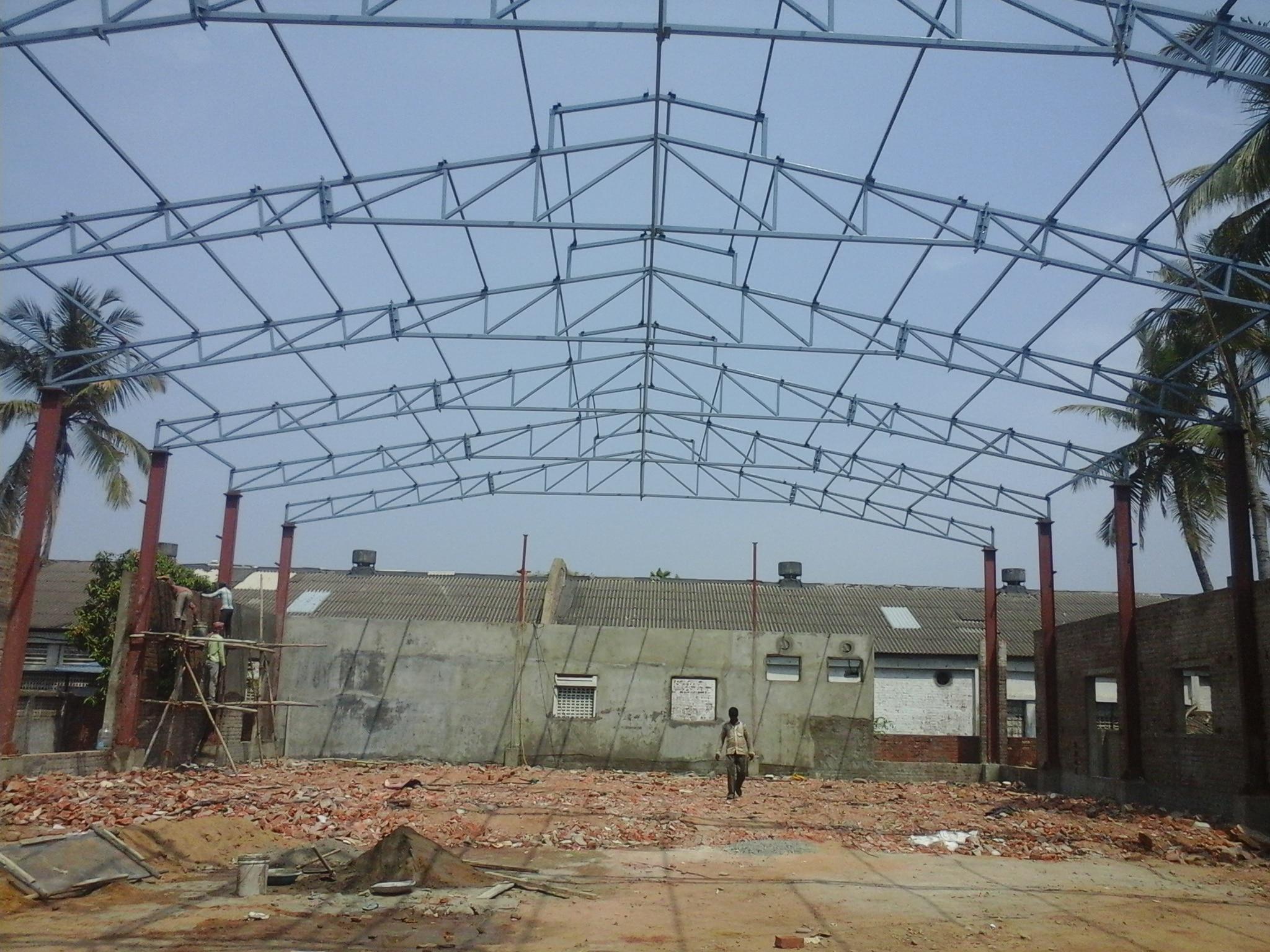 Factory shed constru