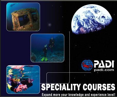 Padi Scuba Diving Sp