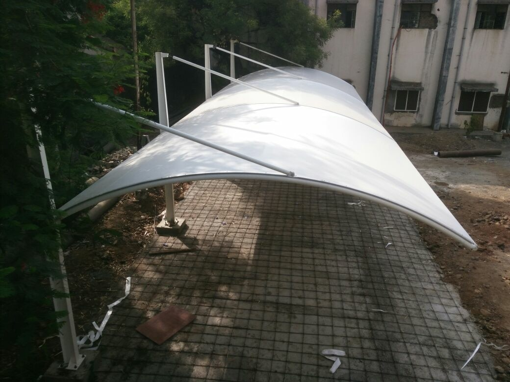 Tensile car parking shade manufacturer in pune