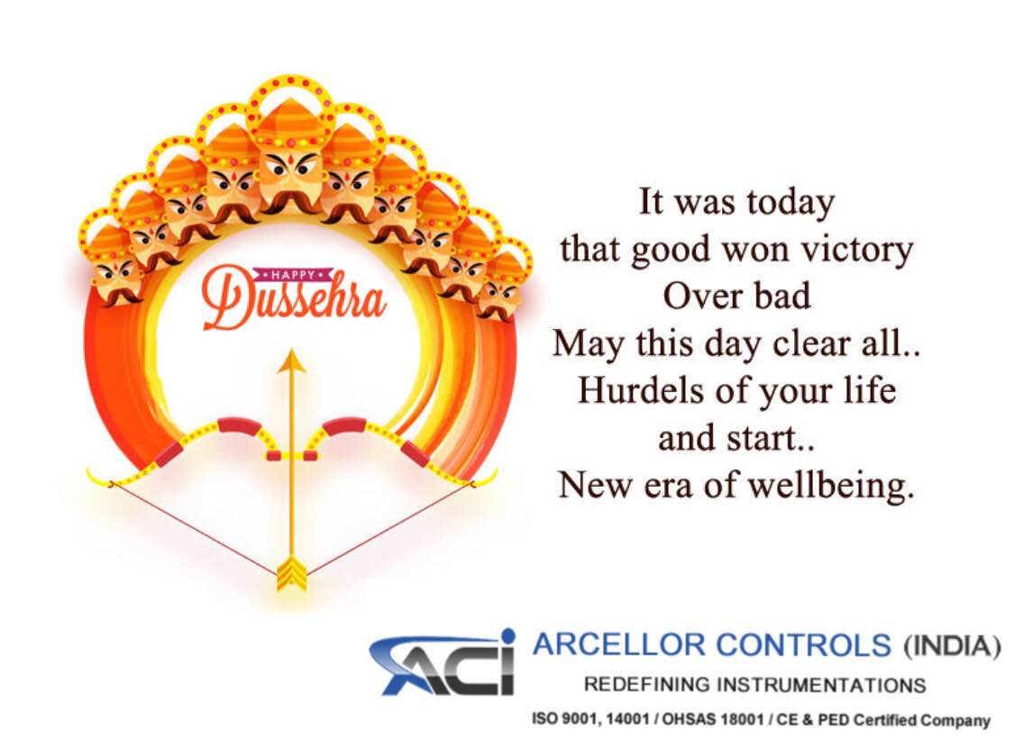 Happy dussehra to all our valuable customers.
