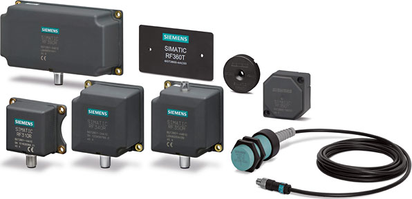SIEMENS RFIDWith the help of Siemens RFID Monitoring becomes quite easy which helps to increase the production.According to the Field application Siemens offers right solution and support.Different  types of Series in Siemens RFID are RF1000, RF200, RF300 & RF6001)RF1000 Series:- Rf1000 provides Rfid solution for electronic authorisation management. There are 2 types of Rfid in series SIMATIC RF1060R and SIMATIC RF1070R readers. They operate on frequency of 13.5 MHZ and has USB interfaces.Basics applications where it can be used are Controlled machine access, Access right of users.2)SIMATIC RF200:- This family group consists of RF210R, RF220R, RF240R, RF250R and RF260R readers. They operate on frequency of 13.5 MHZ. And has interfaces such us RS422, RS232 & IO link. Basic applications where they can be used are Logistics & intralogistics purposes, Conveyor application, Etc.3)SIMATIC RF300:- This Product group is specifically used for tracking and tracing purposes. It has high speed data acquisition and offers high performance RFID system. It operates on frequency of 13.5 Mhz and basic application where it can be used are for Identification task for Material flow, Tracking guide in machine manufacturing, etc.4)SIMATIC RF600:- RF600 works with the latest UHF(ultra high frequency technology). It is the Most reliable amongst all. We can integrate it on our existing automation and IT very easily. With the help of this tracking and tracing becomes more reliable than before. Its frequency range is 865-928 Mhz. It can be used for higher end applications like IT solutions, For wireless environment demand etc.These RFID's can be communicated to controllers with the help of Communication Modules. There are various types of communication modules with Interfaces for all requirements.