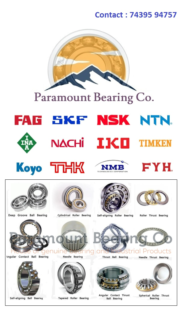 ODD SIZE BEARING AVAILABLE :-Hello, Welcome to Paramount Bearing Co.Are you looking for any bearing ?? We can give you best competitive price on below products:-Available Brand for such products are SKF/FAG ETC.5221352218522205222853209U53210U53212U53213U53216U53222U53224U53310U53312U53313U53316U53406U53408U53412U53416U54218U54220U6182061822618246182661830618326183461840618446184861880619206192261944619486195261956