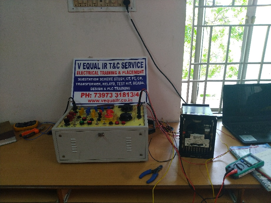 Electrical Relay Testing Training Contact Us | V Equal IR