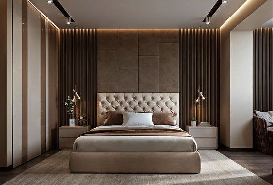 Luxurious Bedroom Master Bed Room Interior Pencil Interiors
