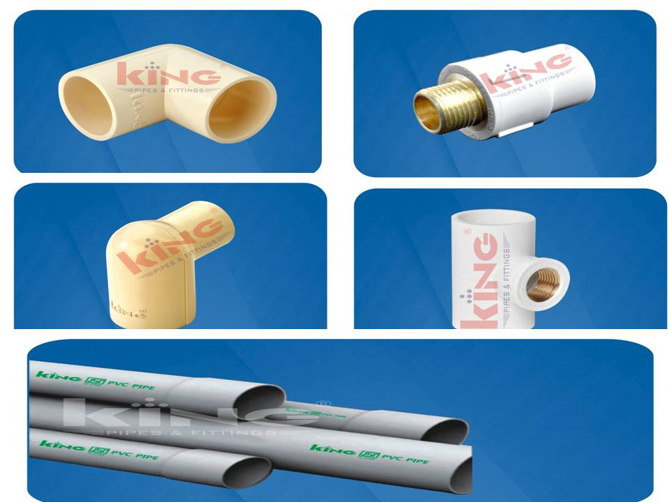 Cpvc pipe and fittings manufacturer in uae,   King Pipes And