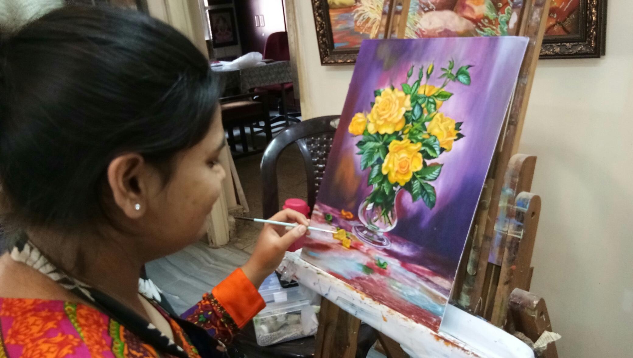 Art Painting Classes Hyderabad