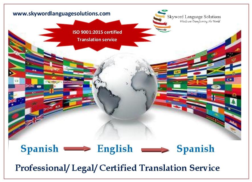 Official Spanish Language Translation - Mariagegironde