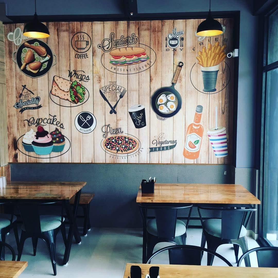 Cafe Interior Exterior Designers We Do Al Universal Associates