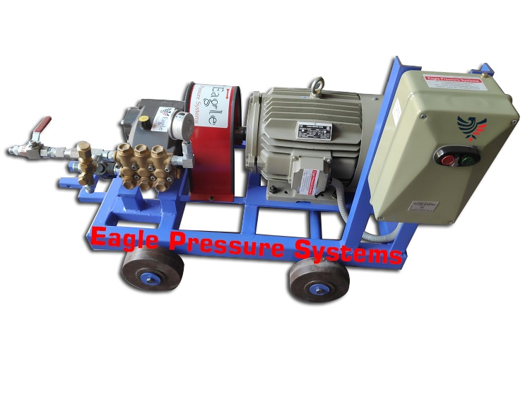 250 bar Hydro test pump | Eagle Pressure Systems in Ahmedabad, India