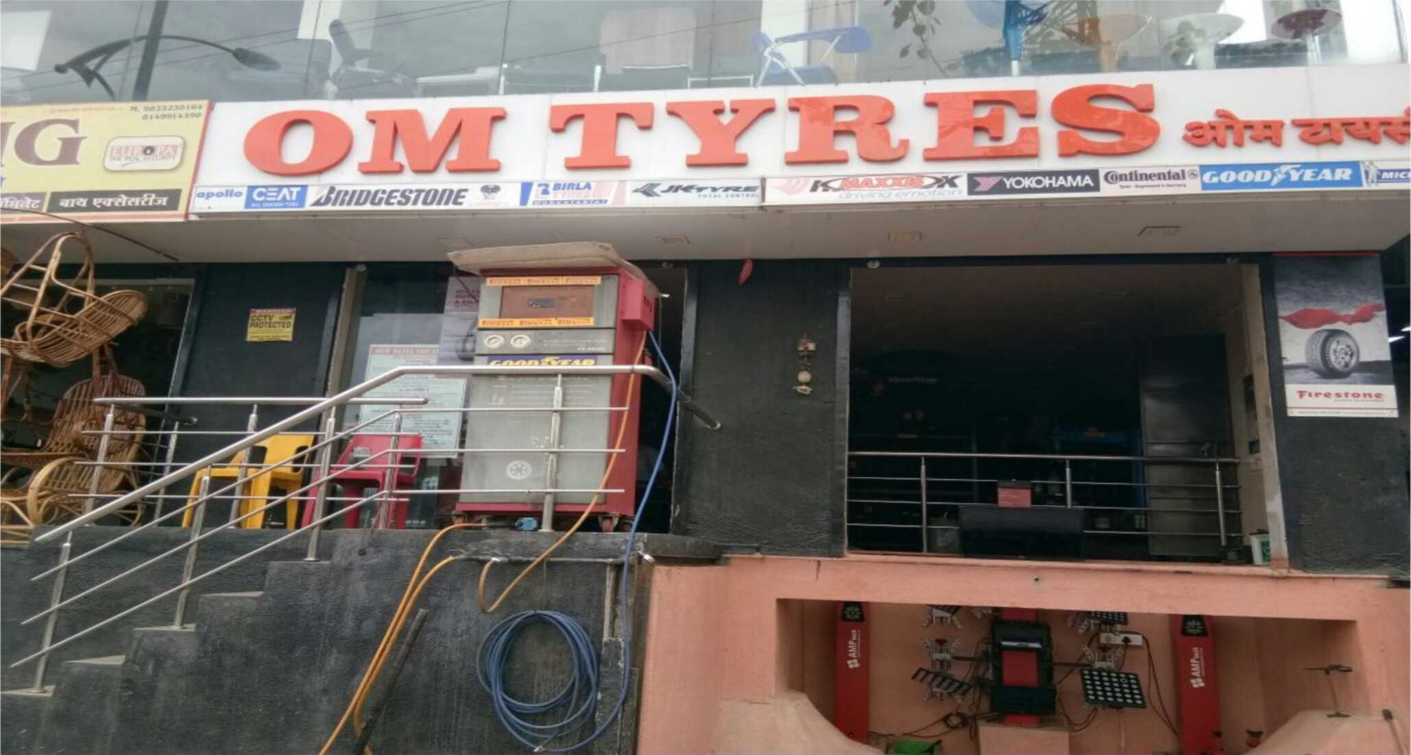Om Tyres is Authorised Tyres D