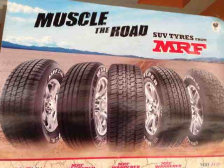 We are the authorised dealer for MRF tyres and tubes. One stop store for all types of vehicles. We deals two wheeler, three wheeler, four wheeler tyres and tubes. - by NINE SYNDICATE ENTERPRISES, Hyderabad