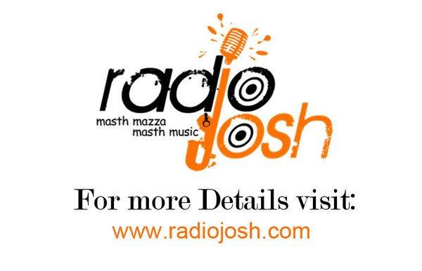 Telugu global online radio. You can have fun 24/7 music. www.radiojosh.com - by Radio Josh Blog, Hyderabad