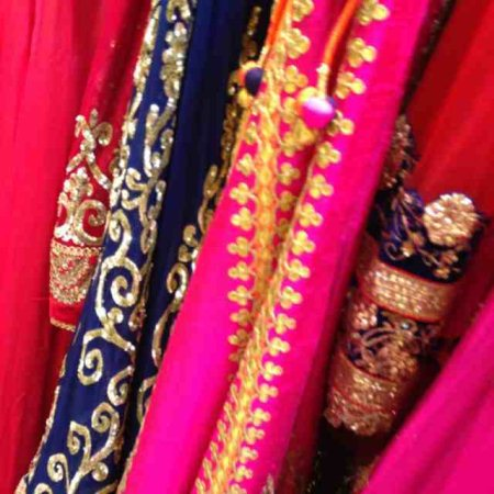 Stunning collection in Sarees and half Sarees  - by Shri Boutique, Hyderabad