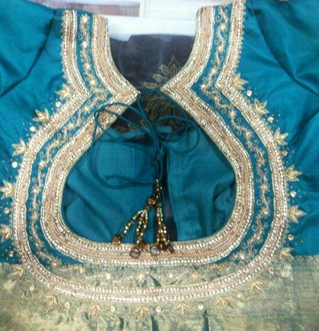 heavy stones designer blouse  - by Stylo...ooh, Bangalore Urban