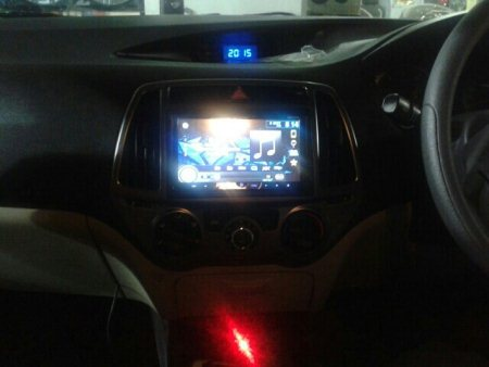 with pioneer headunit....installed at motominds. .