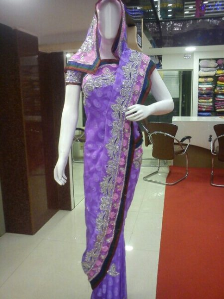 new type of Sarees designer collection has been arrived. everyone are welcome  from: daulat - by DAULAT, Hyderabad