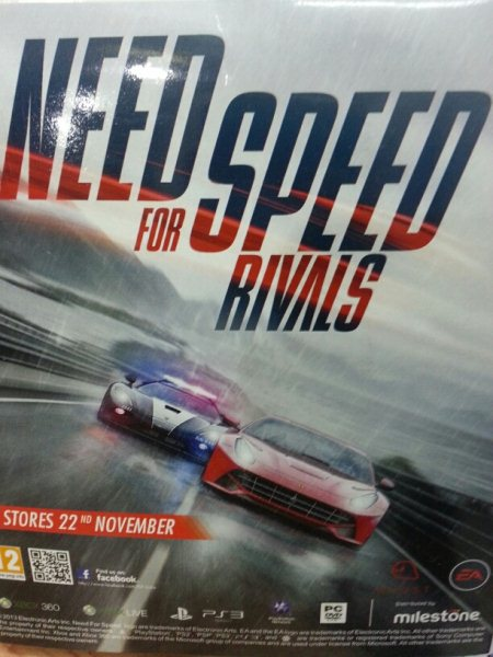 New arrival Need for speed rival available in store come and grab with fancy discounts