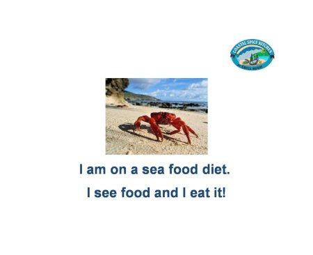 I am on a sea food diet. I see food and I eat it! - by Coastal Spice Kitchen, Hyderabad