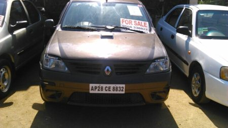 2011 Used Logan Dle doctor driven with showroom track of 56000 kms Car for sale at sainikpuri, secunderabad price Rs.465000 - by CarsnDeals, Hyderabad