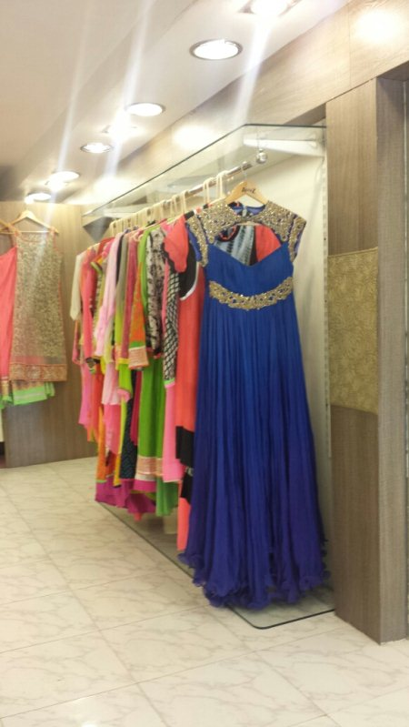 Blue dress - by Aanchal , Hyderabad