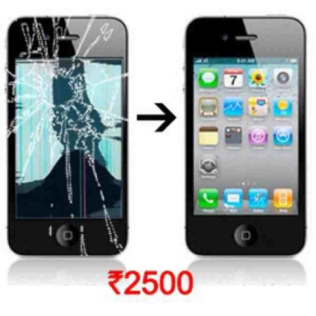 Replace iphone4/4s LCD just for ₹2500 only @ Www.newfonotech.com - by Newfonotech - THE COMPLETE CELL PHONE SOLUTION CENTER, Bangalore