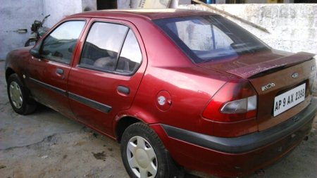 2004 ikon 1.3 flair with CNG Maroon -nagole - by CarsnDeals, Hyderabad