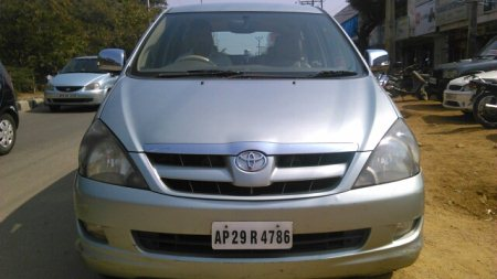 Innova v, 8 seater, diesel, single owner, silver green color, Hyderabad showroom Car for sale at abids - by CarsnDeals, Hyderabad