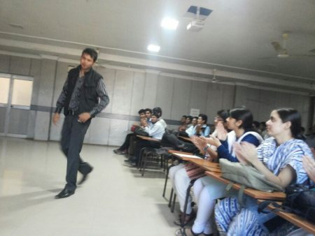 Had a nice experience interacting with students at CET. - by changing thoughts, Khordha
