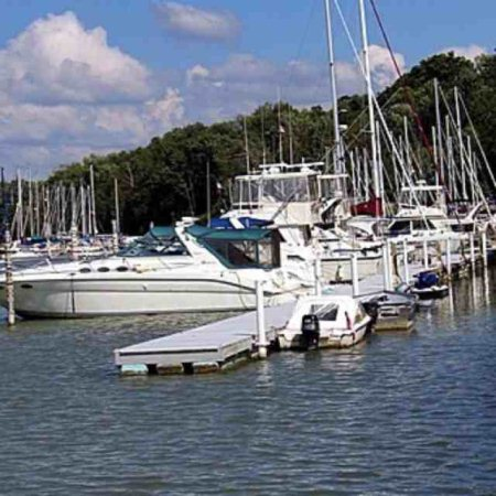 Bayfield Marina  - by Secret Garden of Bayfield, Huron County