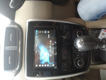 errano with the all new pioneer avh 5690 headunit..@ motominds