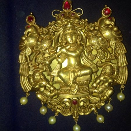 Krishan ruby Pandan - by Kanchan Jewellers, Bangalore