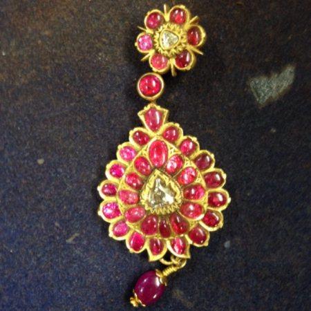 Rubby Dimond Pandan - by Kanchan Jewellers, Bangalore
