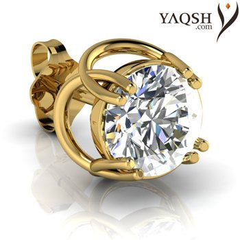 Let your promise for an everlasting love begin with an exquisite pair of diamond ear rings from Yaqsh.com ! - by Yaqsh.com, Delhi