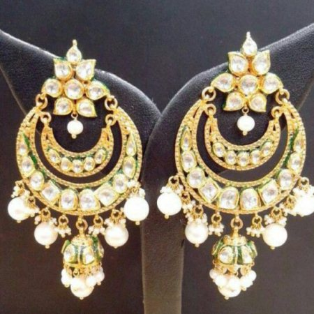 Chand bali - by gems and jewellery, Jaipur