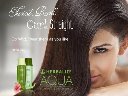 Launched new everyday sulphate free AQUA Shampoo & conditioner for all hair types.  Keeps hair and scalp clean and healthy • Maintains moisture level for healthier hair • Paraben and sulfate free formula is perfect for daily use • Fruity gr - by Herbalife International Distributor, Gurgaon