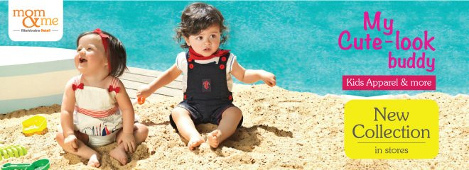 My Cute look buddy:- New Kids apparel and much more is now available in Mom & Me stores.  - by Mom & Me - Thane (W), Mumbai