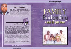 Family Budgetting   This is a book written for couples as a guide to managing their financial relationship.  - by Treasure Vault Intergrated Service Limited, Lagos