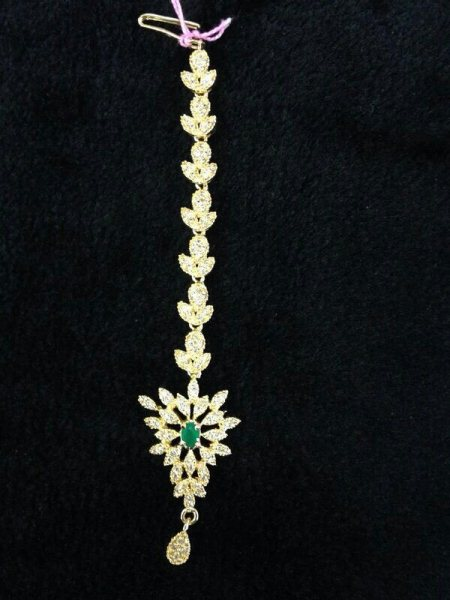 Tika - by Queens Jewellers, Hyderabad