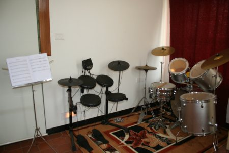 The drum room! - by WeGotGuru - Media and Education, Bangalore Urban