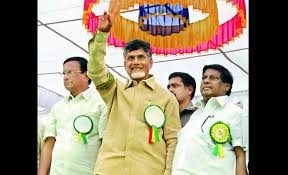 The Telugu Desam Party kicked off its 2014 election campaign from Tirupati  with an impressive rally led by TD chief Mr. Chandrababu Naidu - by Bring Back Babu, Hyderabad