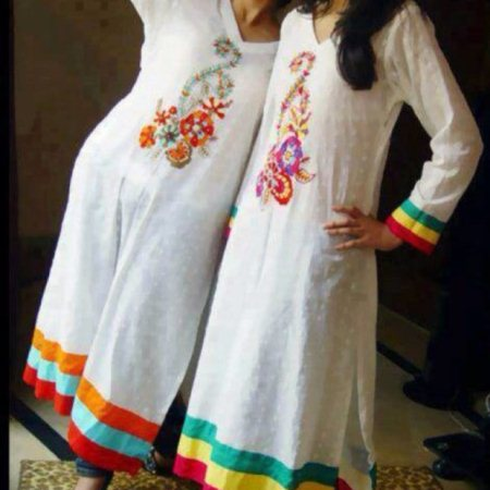 Perfect summer wear with a designer touch!  - by Jaheena, Bangalore
