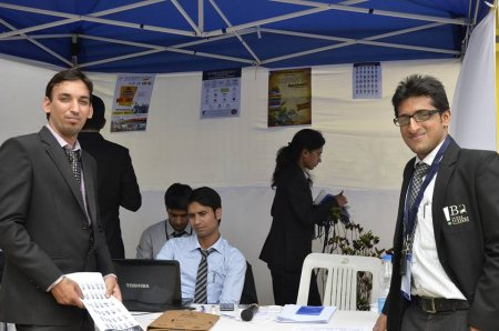 During NATIONAL LEVEL MANAGEMENT FEST- Archish 2014 - by Pargat Singh Sidhu, Bangalore