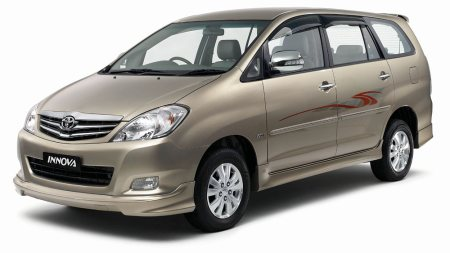 Innova Second Hand Car. 2007 Registration, V Version, 85000 Kms Driven.