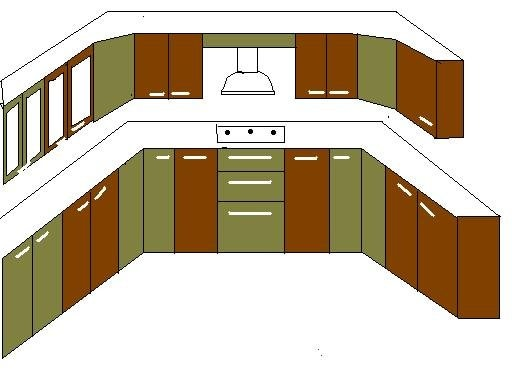 Kitchen Blue Print : For Details Call 9980492439 - by Shri Laxmi Furniture, Bangalore