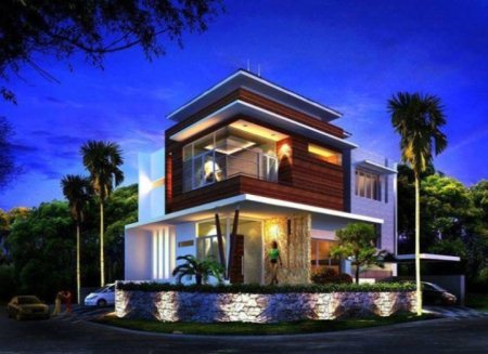 Designer house @ Calicut - by Continental builders india, Kozhikode