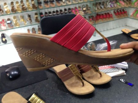 New range ladies fancy footwear  - by Multy footwear & leather luggage, Hyderabad