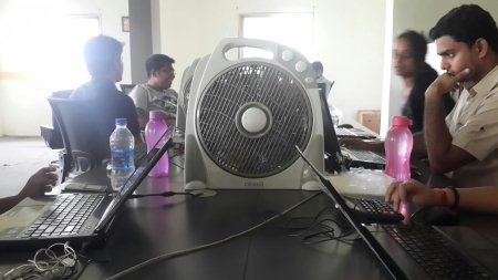 This is a fan, our life line. Keeps us going.  - by NowFloats - Hyderabad, Hyderabad