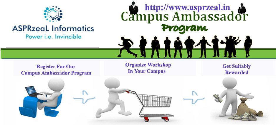 Campus Ambassador Program - by ASPRzeaL INFORMATICS, Faridabad