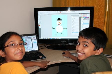 Pictures from the summer camp- learning Photoshop and playing awesome games!! - by The Roachshala, Hyderabad